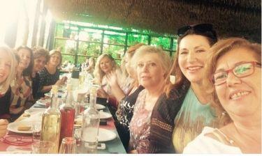 Νικολοπούλου: Reunion με τις συμμαθήτριές της 40 χρόνια μετά!
