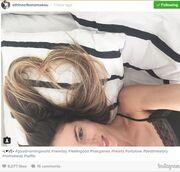 Αθηνά Οικονομάκου: Χωρίς 'ίχνος μακιγιάζ στο κρεβάτι (φωτό)