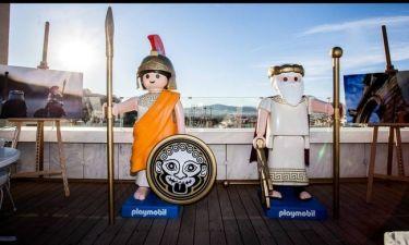 PLAYMOBIL play & give 2016: Nέες συλλεκτικές φιγούρες  με έμπνευση από Αρχαία Ελλάδα