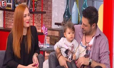Γιώργος Χειμωνέτος: Με την κόρη του στην εκπομπή Καραβάτου-Κατσούλη