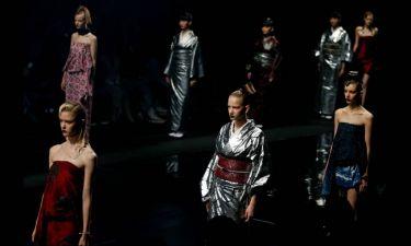 Τα κιμoνό αλλιώς. Η Εβδομάδα Μόδας του Τόκιο εντυπωσιάζει