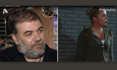 Δημήτρης Σταρόβας: Οι δηλώσεις για την αγαπημένη του,Άννα Σταθάκη on camera