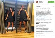 Πολύ γέλιο: Ο Σάκης πήγε για ψώνια με την αγαπημένη του και επειδή βαριόταν, δοκίμαζε... φορέματα!