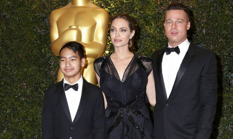 Ο Brad Pitt συνάντησε το γιο του