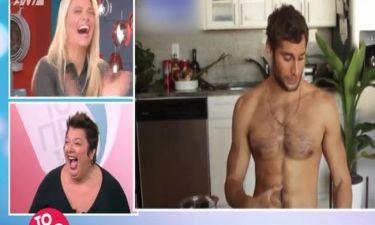 Η ατάκα που ακούστηκε για τον γυμνό σεφ στο Πρωινό και έκανε τη Φαίη να χτυπά παλαμάκια!