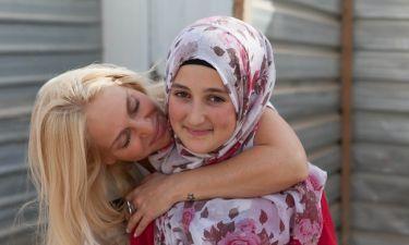 Η επίσκεψη της Κυριακού ως πρέσβειρα της Unicef Ελλάδος στο Ζαατάρι της Ιορδανίας