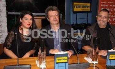 Ο Τατσόπουλος παρουσίασε το βιβλίο του