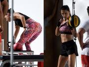 Η Adriana Lima… γυμνάζεται