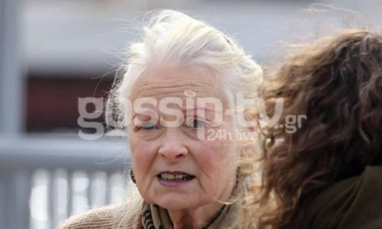 Η Vivienne Westwood στην Ύδρα