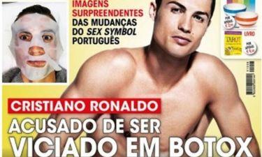 Εθισμένος στα botox ο Cristiano Ronaldo;