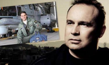 Ραγίζει καρδιές ο Μακεδόνας μιλώντας για τον χαμό του άτυχου πιλότου που ήταν φίλος του