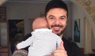 Τριαντάφυλλος: Η βάπτιση του γιου του στην Ρόδο (φωτο)