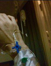 Εσπευσμένα στο νοσοκομείο η εγκυμονούσα Φωτεινή Ψυχίδου (φωτό)