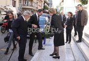 Η τέως βασιλική οικογένεια στην κηδεία του Κουμάνταρου