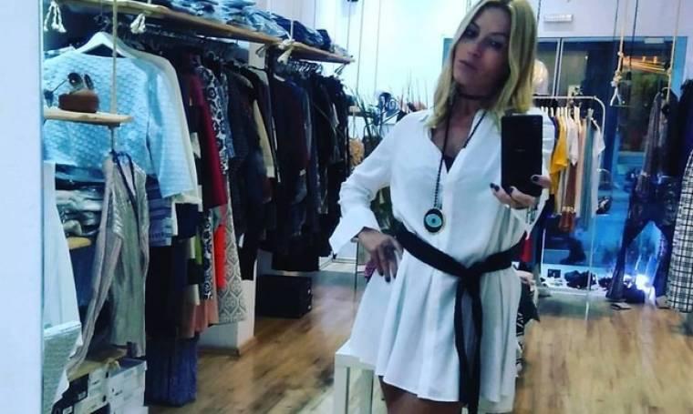 Έλσα Τόλη: Μοντέλο ξανά… για τα ρούχα της