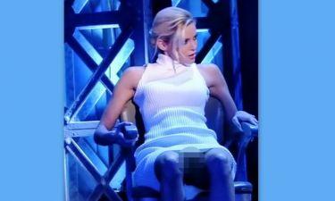 Ρία Αντωνίου: Το σταυροπόδι της αλά Sharon Stone που… «κολάζει»