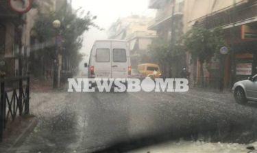 Καιρός: Ακραία καιρικά φαινόμενα «χτυπούν» τη χώρα - Χαλάζι και στο κέντρο της Αθήνας (pics&vid)