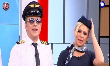 Πολύ γέλιο: Κατσούλης: «Κυρίες και κύριοι σας μιλάει ο κυβερνήτης του αεροσκάφους»