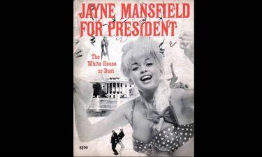 Όταν η Τζέιν Μάνσφιλντ και το μπούστο της μπήκαν στο Λευκό Οίκο