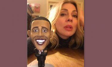 Τρελό Γέλιο: Ο διάλογος της Σμαράγδας Καρύδη με τον Μπάρακ Ομπάμα
