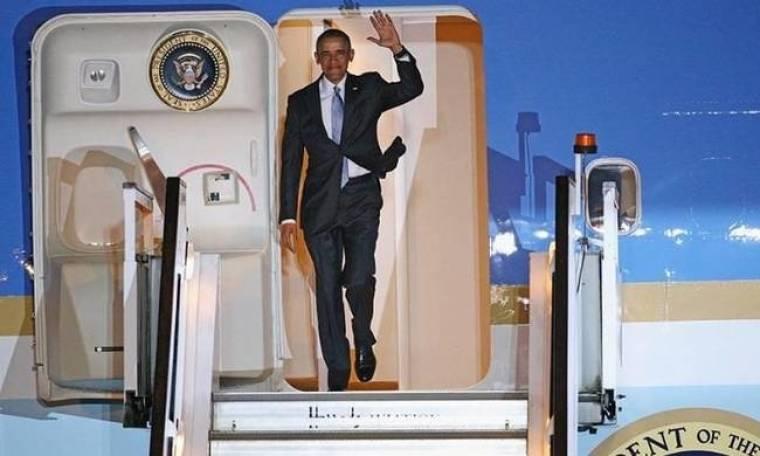 Ο Ομπάμα στην Αθήνα - Live Blog: Ζωντανά η άφιξη και οι συναντήσεις του προέδρου των ΗΠΑ