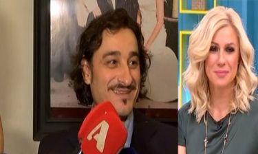 Χαραλαμπόπουλος: «Θαυμάζω τις επιλογές της γυναίκας μου»