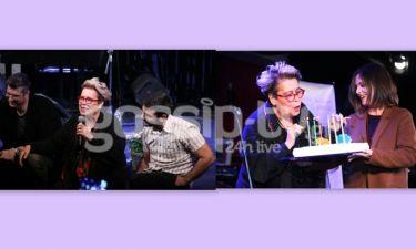 Η Δήμητρα Γαλάνη παρουσίασε τη νέα της δισκογραφική δουλειά ανήμερα των γενέθλιων της