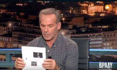 Πέτρος Κωστόπουλος: Το δημοσίευμα που τον ενόχλησε και η ανακοίνωσή του μέσα από την εκπομπή του!