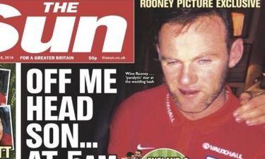 «Τύφλα» στο ποτό ο Wayne Rooney. Η φωτογραφία που τον… «καίει»