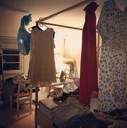 Η εγκυμονούσα Κατερίνα Μουτσάτσου ετοιμάζει το παιδικό δωμάτιο (φωτό)