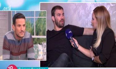 Γιώργος Σαμπάνης: Μιλά πρώτη φορά για τη νέα του σύντροφο και τον χωρισμό από την Άννα Πρέλεβιτς