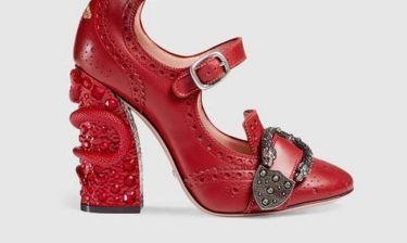 Κάτι μας λέει ότι η νέα shoe collection του οίκου Gucci θα κάνει θραύση στον κόσμο της μόδας