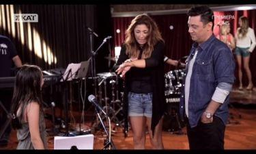 «Junior Music Star»: Η Παπαρίζου υποκλίθηκε στην μικρή με το μεγάλο ταλέντο
