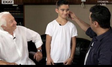 «Junior Music Star»: Ο Θεοφάνους τρόμαξε με τον μικρό που παίζει Judo