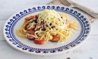 Η συνταγή του Σαββατοκύριακου: Πανεύκολη μακαρονάδα που γίνεται σε ένα μόνο τηγάνι!