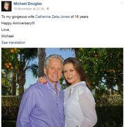 Επέτειος για τα 16 χρόνια γάμου γιόρτασε το γνωστό ζευγάρι ηθοποιών