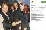 Το συγκινητικό αντίο της Βίκυς Χατζηβασιλείου στον Κωστή Στεφανόπουλο (φωτό)