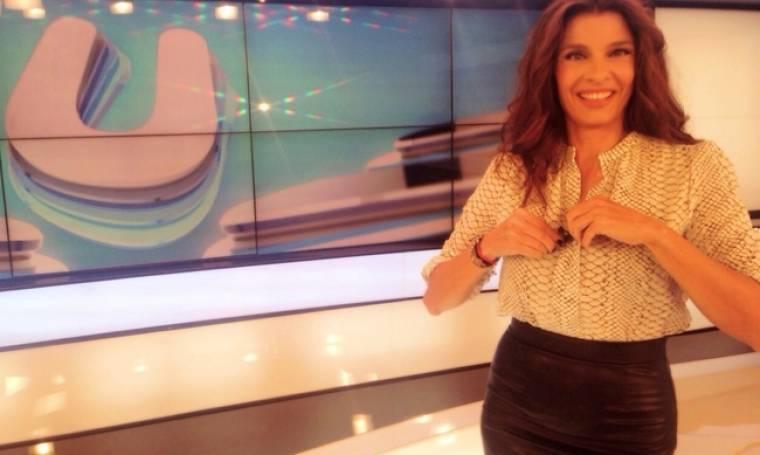 Πόπη Τσαπανίδου: Δείτε την άβαφη με την δημοσιογράφο κόρη της