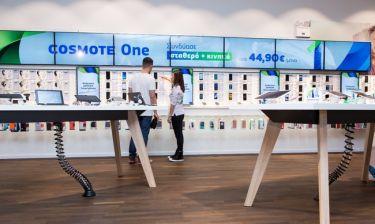 Νέο, μοντέρνο κατάστημα COSMOTE στο The Mall Athens