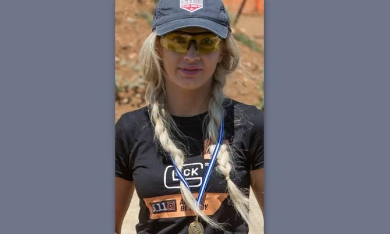 To μοντέλο Φαίη Λαιμού κατέκτησε την τρίτη θέση στο Πανελλήνιο πρωτάθλημα σκοποβολής στην Κοζάνη