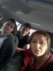 Μαρία Φιλίππου: H selfie με τους γιους της