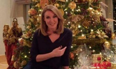 Τατιάνα Στεφανίδου: Μας δείχνει το δέντρο στο σπίτι της και τα... δώρα!
