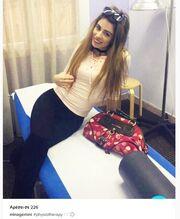 Μίνα Αρναούτη: Πήγε για φυσιοθεραπεία και ανέβασε φωτογραφία