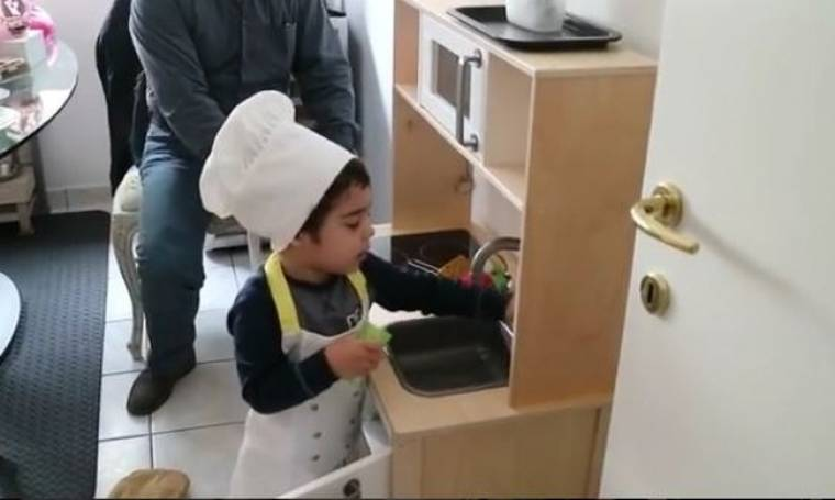 Master chef ο γιος Ελληνίδας τραγουδίστριας