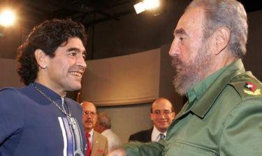 Ο θρήνος του Maradona για τον χαμό του φίλου του, Fidel Castro
