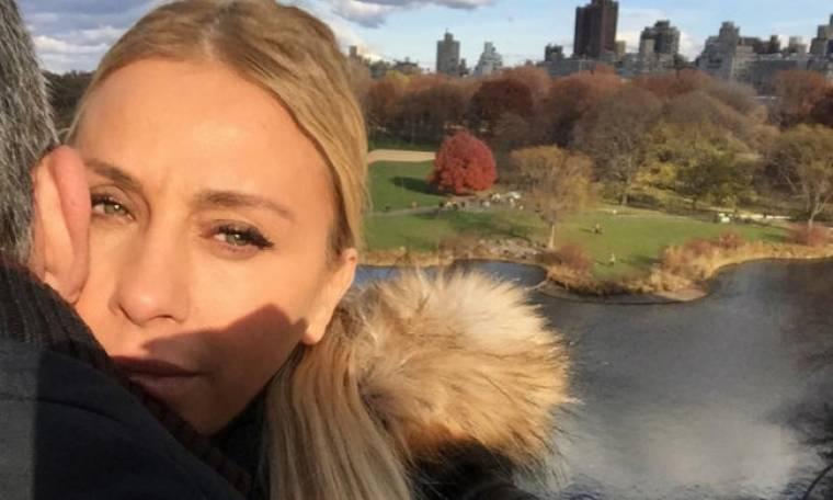 Γωγώ Μαστροκώστα: Η ρομαντική φωτογραφία από το Central Park