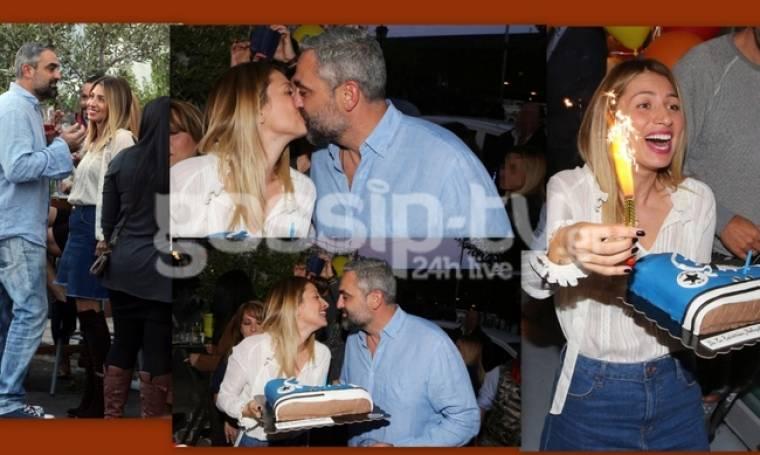«Λιώνει» για πάρτη του η Ηλιάκη! Η τούρτα για τα γενέθλια του και τα «καυτά» φιλιά!