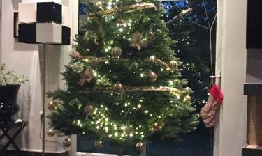 Σε χριστουγεννιάτικο mood και η...