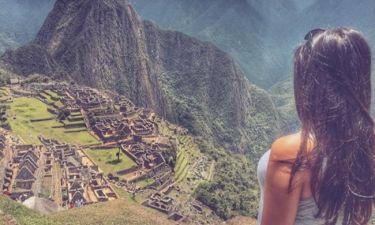 Η Ελληνίδα παρουσιάστρια στο Περού (φωτό)