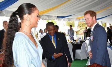 Ο πρίγκιπας Χάρι γνώρισε την Rihanna και εντυπωσιάστηκε